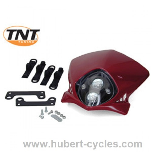 TETE FOURCHE ENDURO BI HALOG DUKE ROUGE
