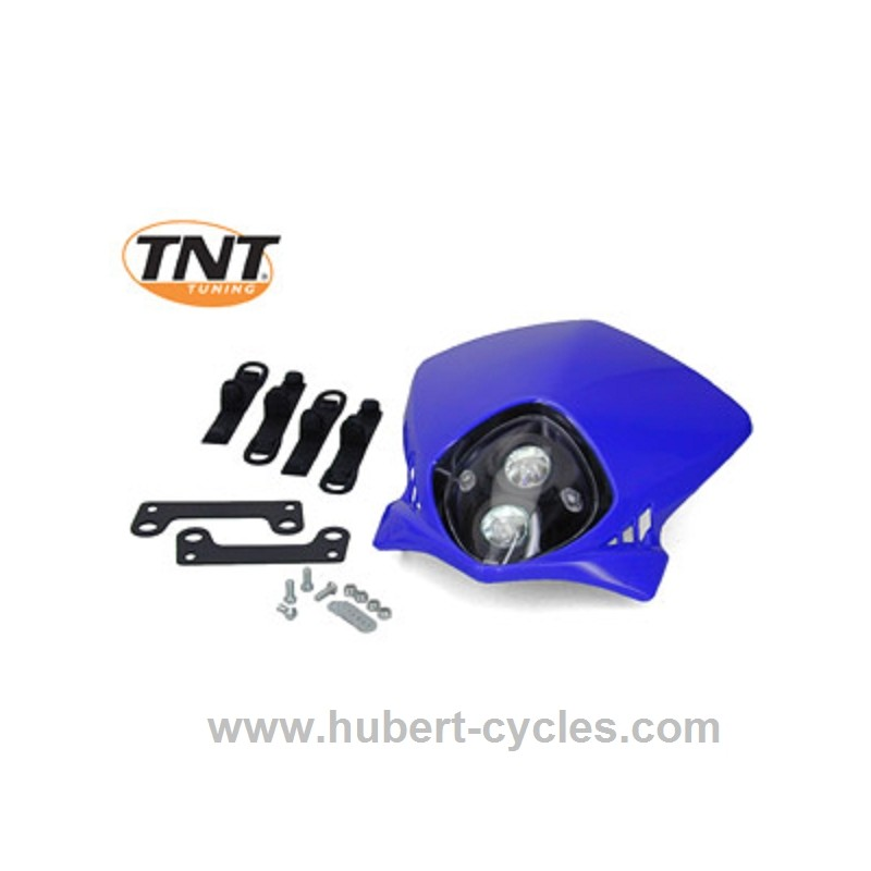tete de fourche enduro bi halog tnt duke bleue