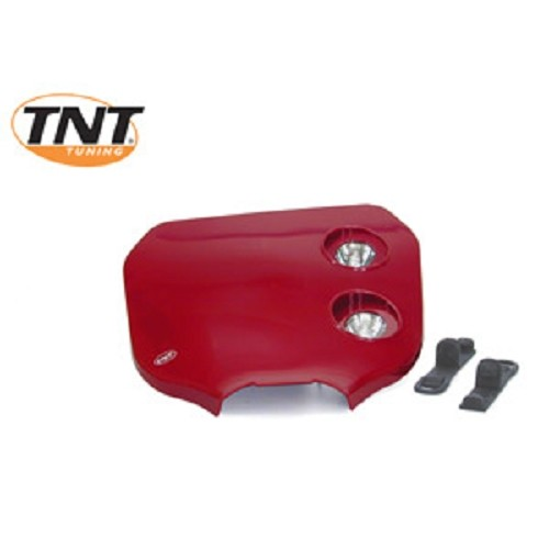 TETE FOURCHE ENDURO BI HALOG CROSS ROUGE