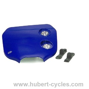 TETE FOURCHE ENDURO BI HALOG CROSS BLEUE