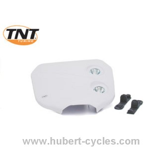TETE FOURCHE ENDURO BI HALOG CROSS BLANC