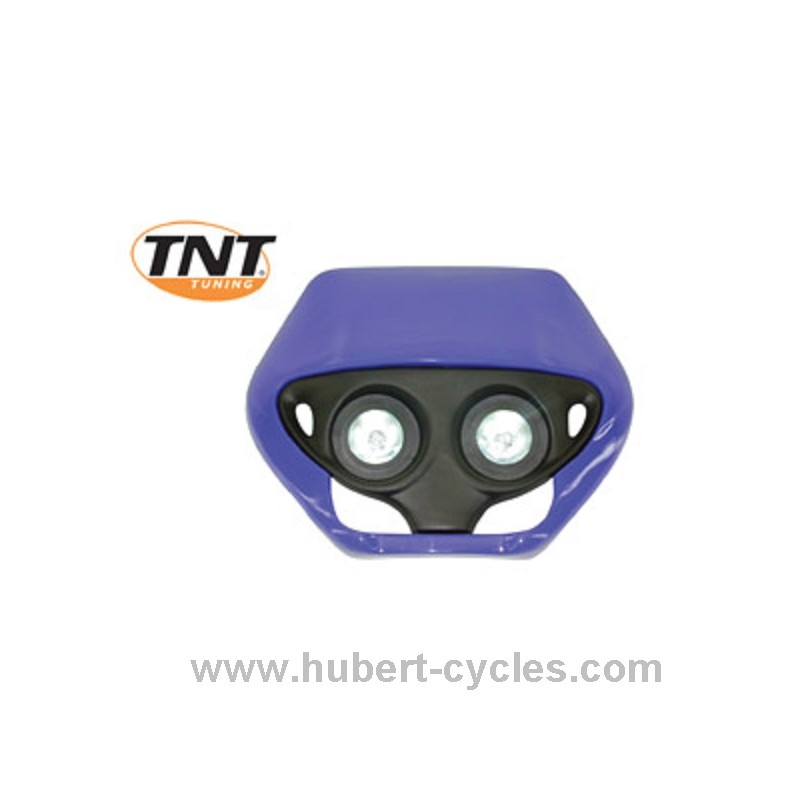 tete de fourche enduro halog double optic bleue