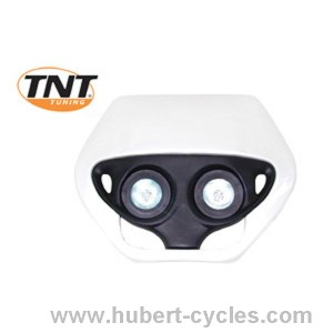 TETE FOURCHE ENDURO HALOG DOUBLE OPTIC B