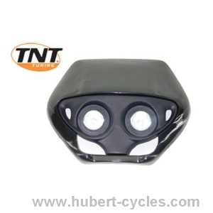 TETE FOURCHE ENDURO HALOG DOUBLE OPTIC N