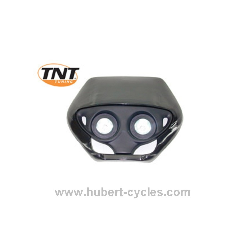tete de fourche enduro halog double optic noir
