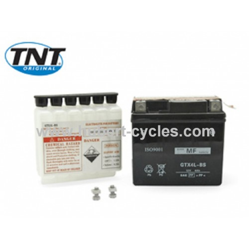 BATTERIE SCOOT YTX4L-BS 12V 3A S-ENTRETI