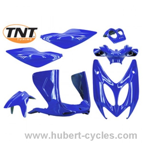 KIT COMPLET HABILLAGE NITRO BLEU METAL