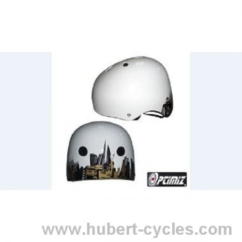 CASQUE OPTIMIZ BMX STREET BL 52/58