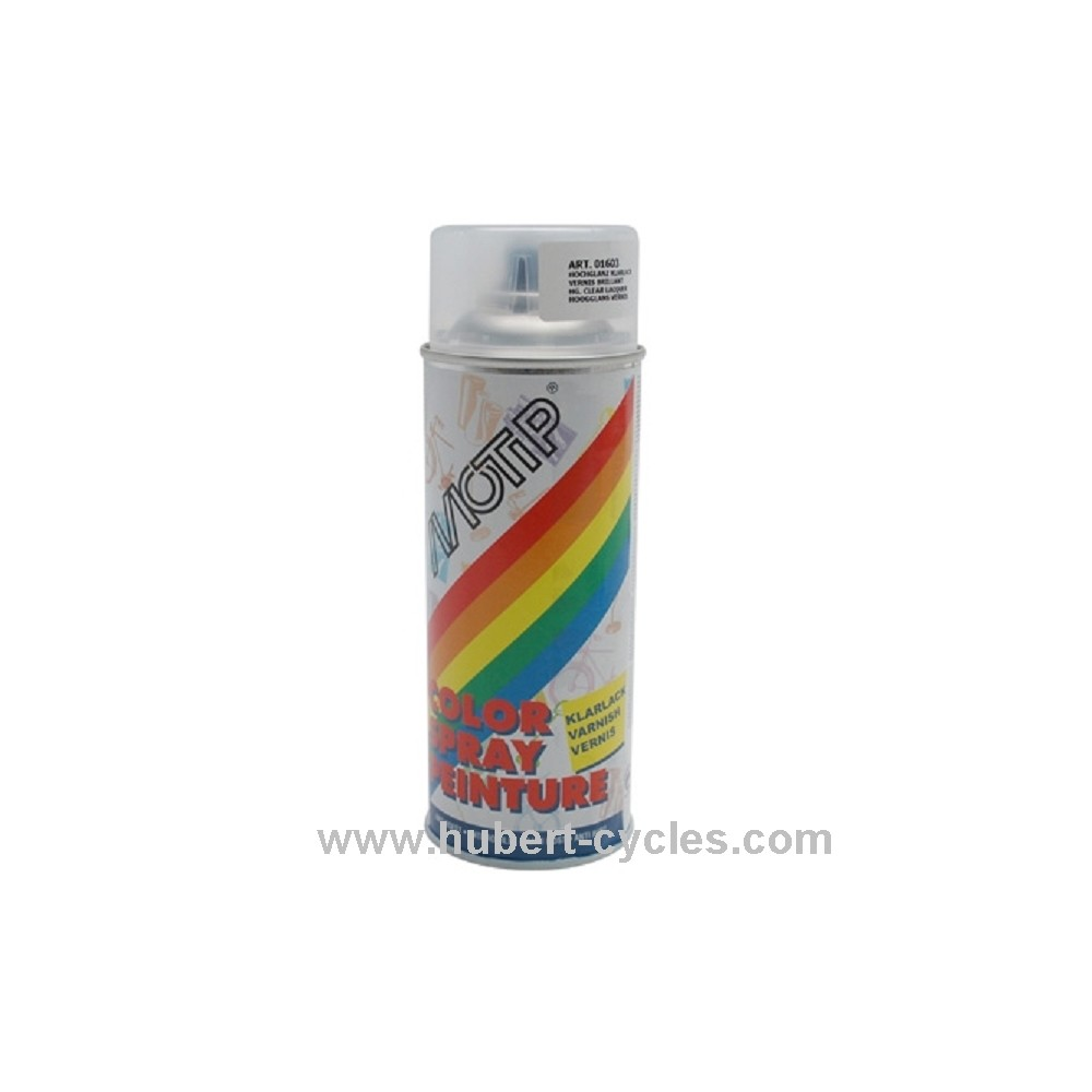 Achat bombe vernis brillant 400ml cgndopplertunr hubert cycles for Peinture bombe bois vernis