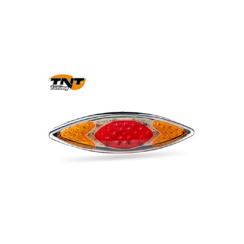 feu arr + clignotants a leds eye rouge/orange