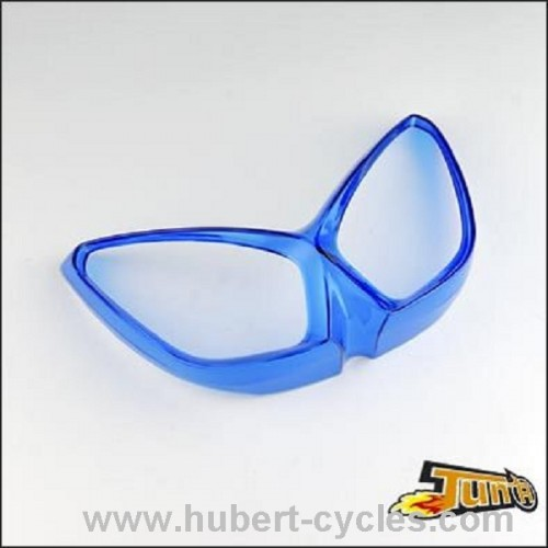 CACHE OPTIQUE NITRO TRANSPARENT BLEU