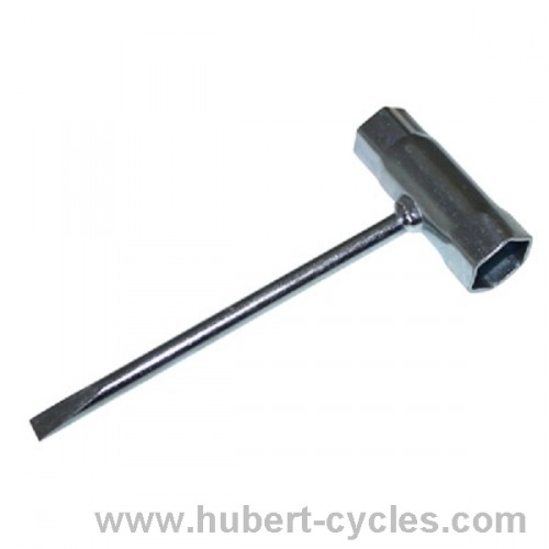CLE A BOUGIE TOURNEVIS 17MM + 21MM