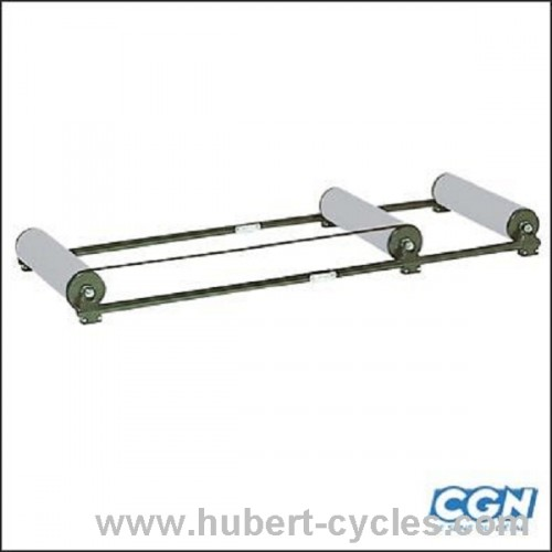 HOME TRAINER ROTO A ROULEAUX ALU