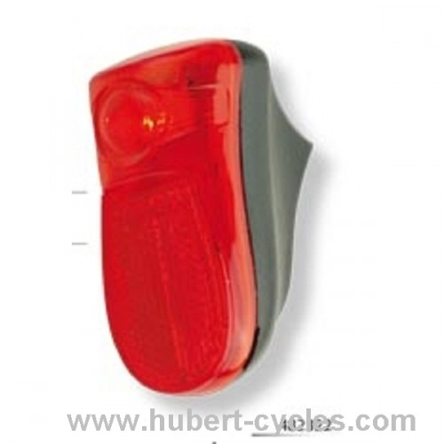 ECLAIRAGE ARRIERE 1LED ROUGE GARDE BOUE