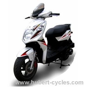 ORBIT II 50 SCOOTER SYM 2 TEMPS BLANC