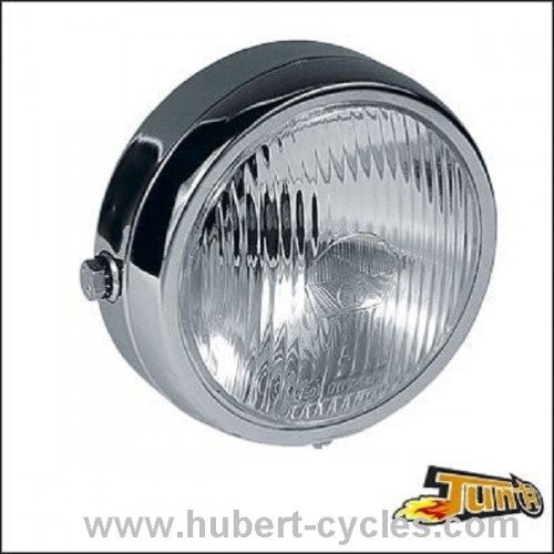 PHARE ROND CYCLO CHROME