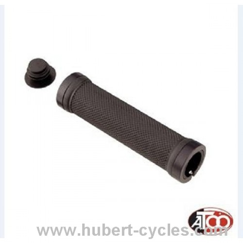 POIGNEES VTT LOCK-ON NOIR KRATON ALU L130