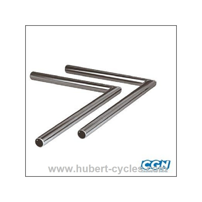 guidon cyclo equerre long lisse chrome adapt 103 mvl