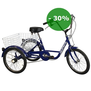 TRICYCLE ADULTE 20POUCES 5VITESSES