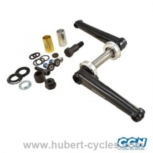 PEDALIER BMX 3 PIECES COMPLET L180MM NR