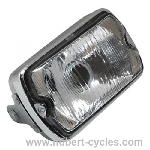 PHARE CYCLO RECTANGLE CHROME
