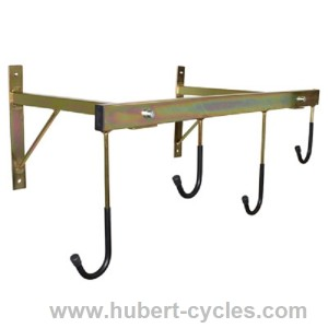 achat support velo mural 4 velos 760x450 p2r hubert cycles. Black Bedroom Furniture Sets. Home Design Ideas