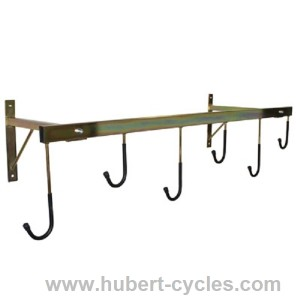 achat support velo mural 6 velos 1260x450 p2r hubert cycles. Black Bedroom Furniture Sets. Home Design Ideas