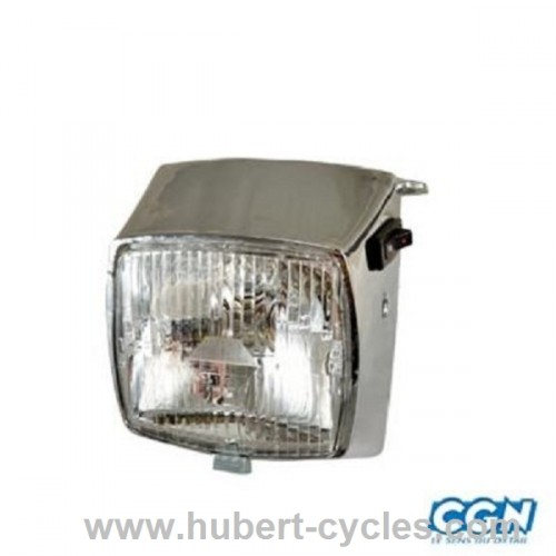 PHARE CYCLO 103 PEUGEOT CHROME 12V