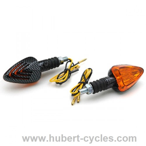 CLIGNOTANT REPLAY TRIANGLE ORANGE/CARBON