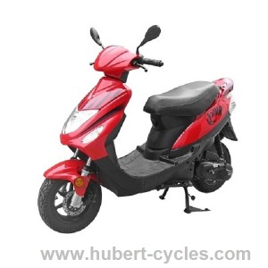 SCOOTER ROMA 3 TNT 2T 50CC 10 ROUGE