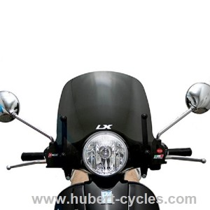 achat pare brise piaggio 125 vespa lx 2005 p2r hubert cycles. Black Bedroom Furniture Sets. Home Design Ideas