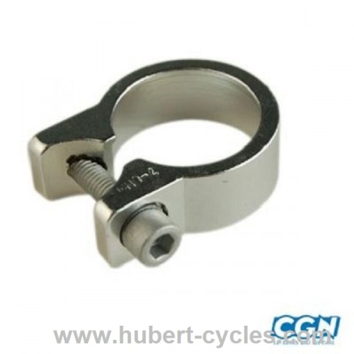 COLLIER TIGE DE SELLE ALU D31.8 MM  ALU