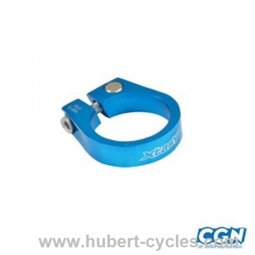COLLIER TIGE DE SELLE ROUTE D31.8MM BLEU
