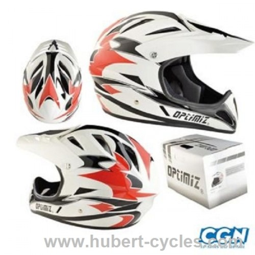 CASQUE BMX INTEGRAL RACE OPTIMIZ 59-60