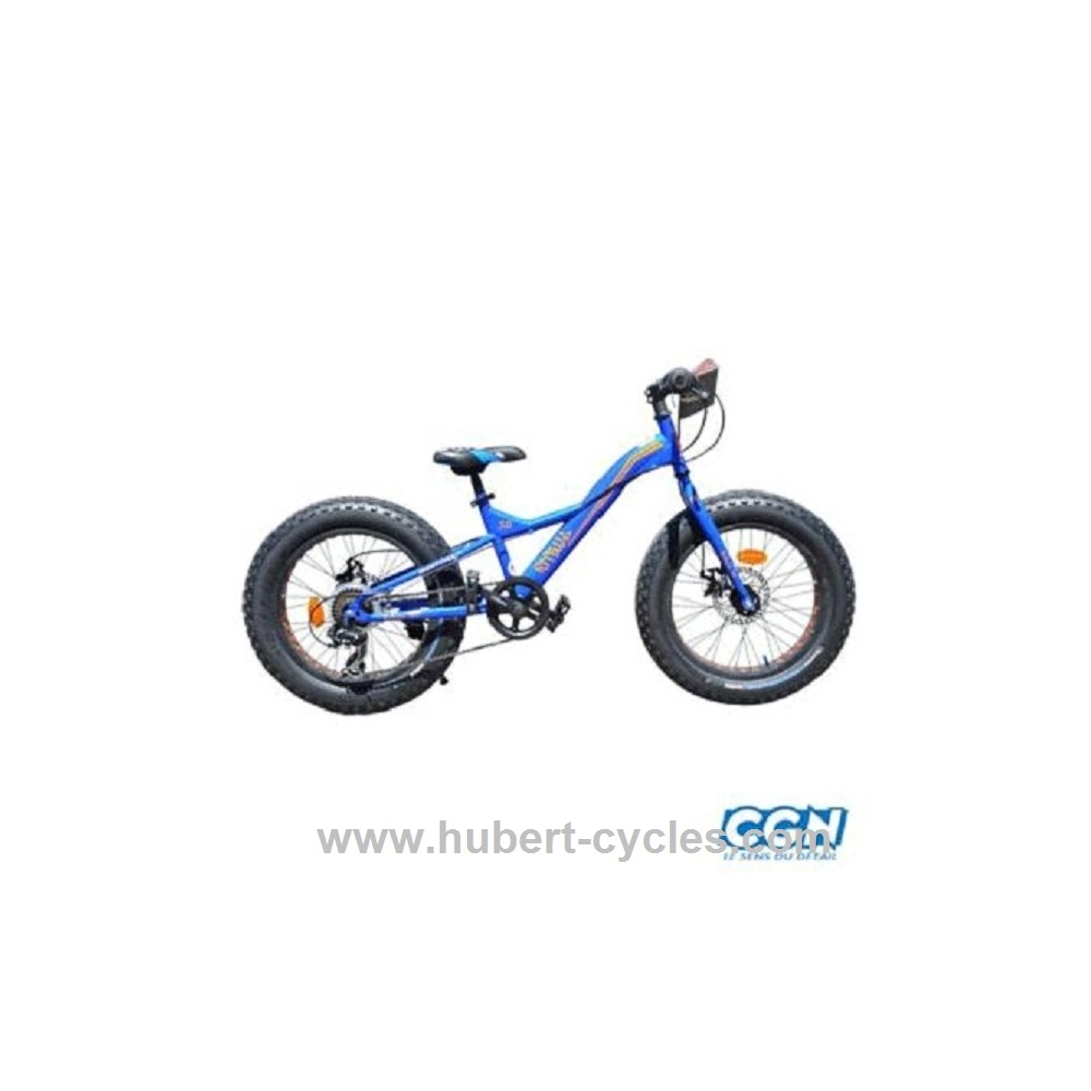 achat velo vtt 20 mtb fat bike pitbull hubert cycles. Black Bedroom Furniture Sets. Home Design Ideas