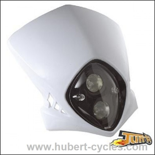 TETE DE FOURCHE RACING BLANC