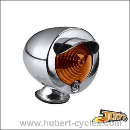 FEU DECORATIF GLIDE CHROME/ORANGE