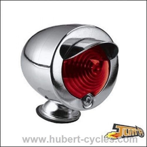 FEU DECORATIF GLIDE CHROME/ROUGE