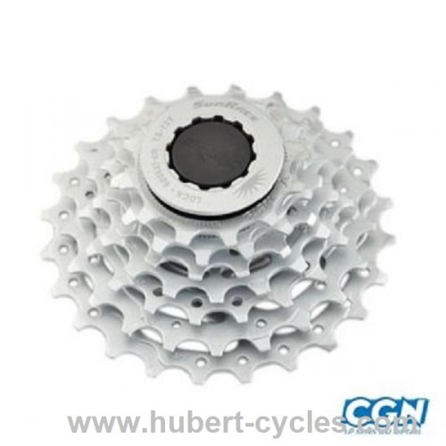 CASSETTE 7V SUNRACE 12-24DTS CHROME