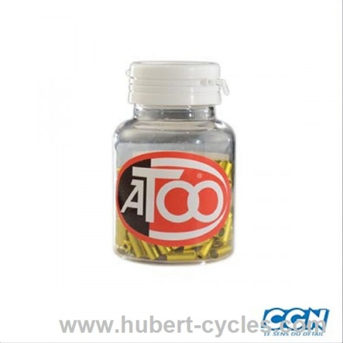 EMBOUT GAINE 5MM ATOO ALU OR (X200)
