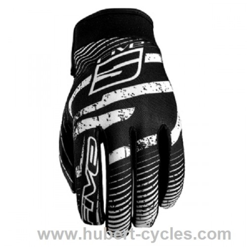 GANTS FIVE PLANET LOGO BLACK XS