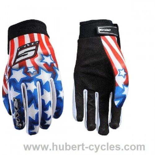 PAIRE GANTS FIVE PATRIOT USA S