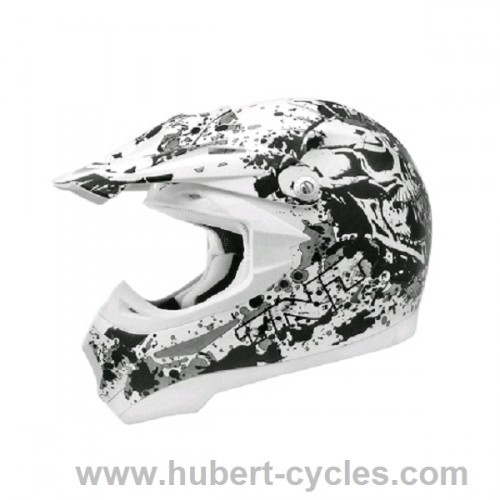 CASQUE CROSS POLY DEAD HEAD XS SC05