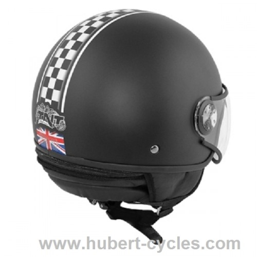 CASQUE 1/2 JET TNT PUCK CAFE RACER UNION