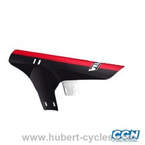 GARDE BOUE AV VTT ROUGE FIX.FOURCHE