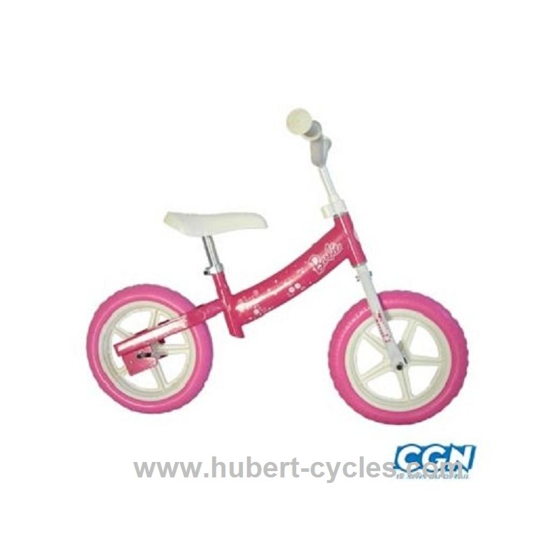 achat velo sans pedale draisienne barbie rose cgndopplertunr hubert cycles. Black Bedroom Furniture Sets. Home Design Ideas