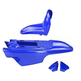 KIT CARROSSERIE YAMAHA PW 50 BLEU 4 PCS