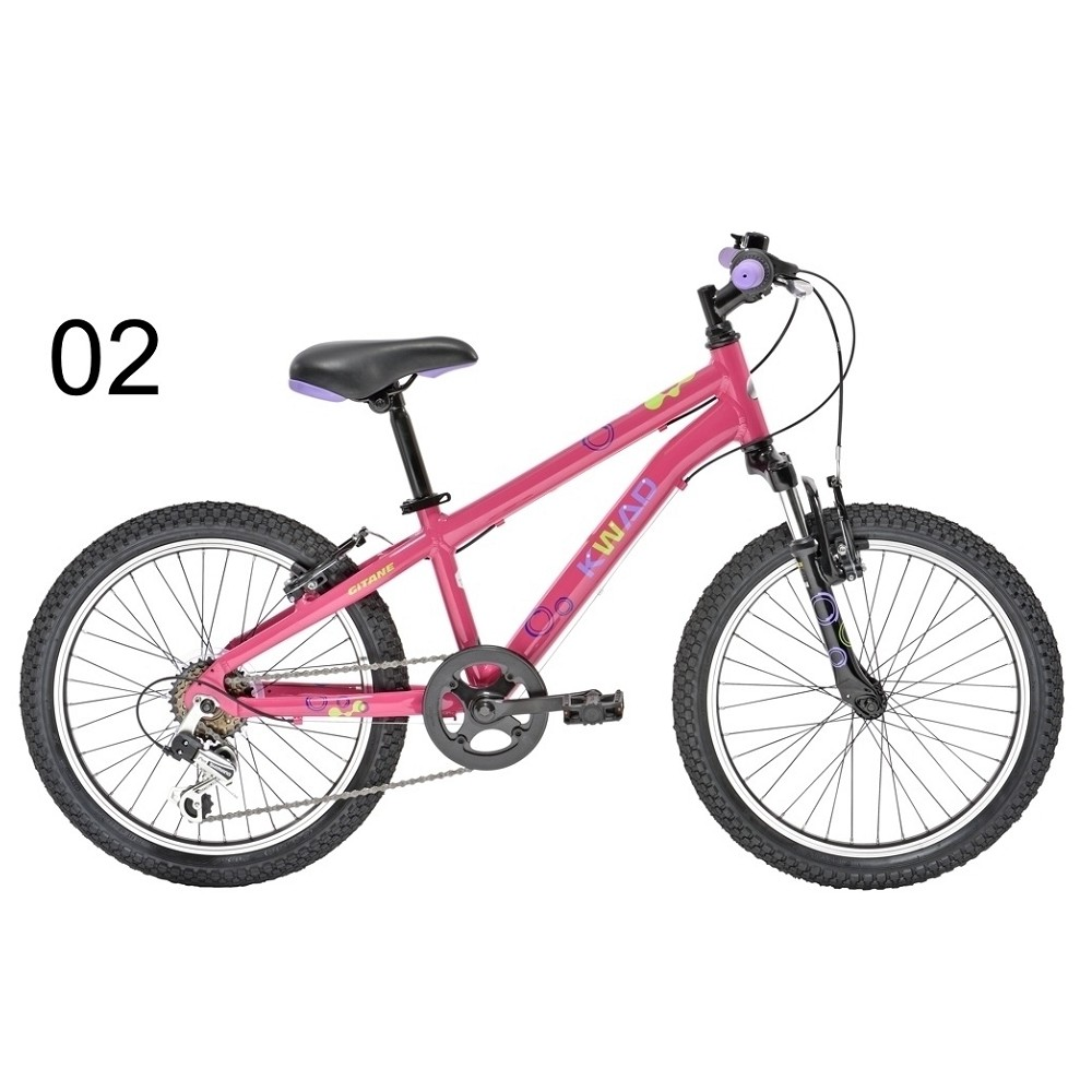 achat velo enfant kwad 20 pouces rose hubert cycles. Black Bedroom Furniture Sets. Home Design Ideas