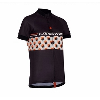 MAILLOT ML LAPIERRE BLACK T: XL 70TH
