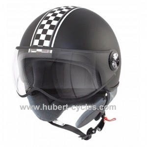 CASQUE 1/2 JET TNT PUCK CAFE RACER ITALI